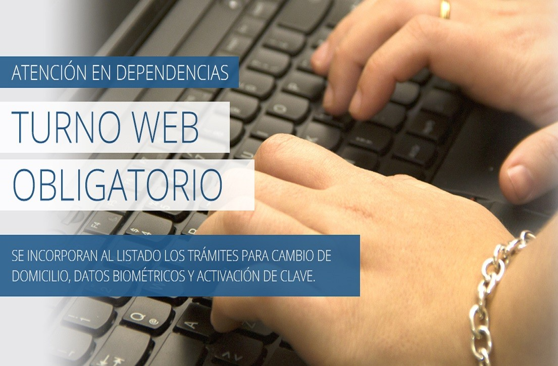 AFIP. Atención en dependencias. Turno Web OBLIGATORIO